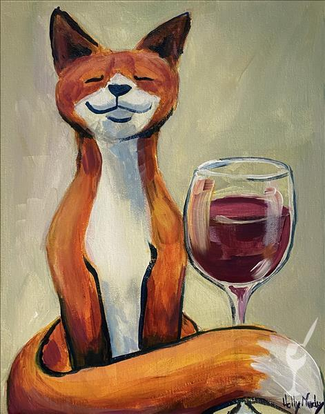 Fox with Wine