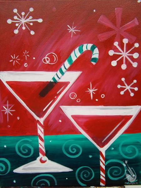 How to Paint Happy Hour - Santa's Helpers