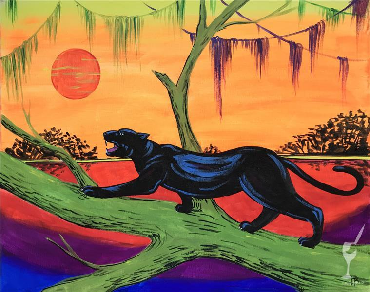 Black Panther Sunset