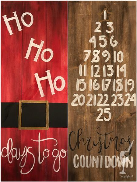 Holiday Countdown - Pick a Side