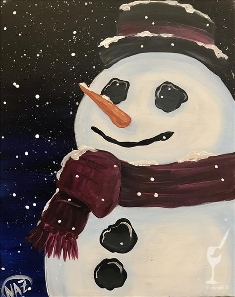 Winter Visitor - Snowman