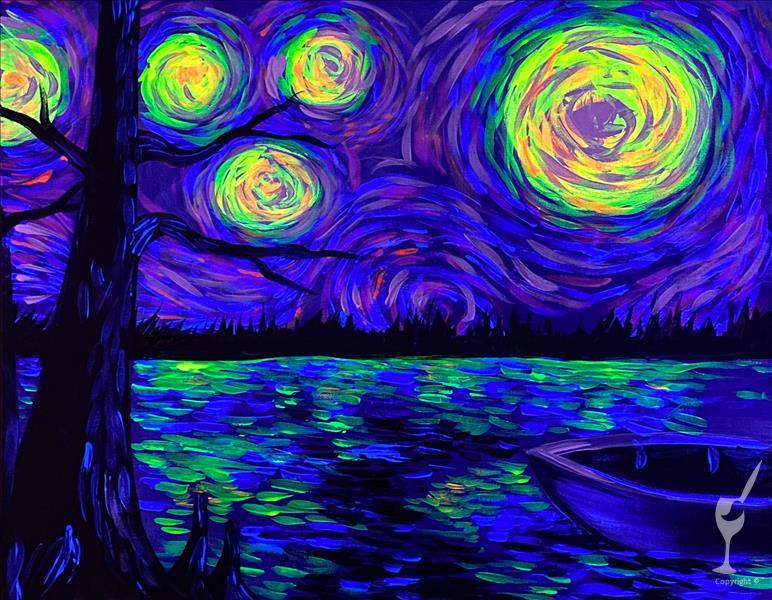BAYOU STARRY NIGHT**Public BLACKLIGHT Event**