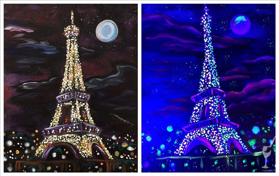 BLACKLIGHT - Eiffel Tower Lights  ~ (Couples)