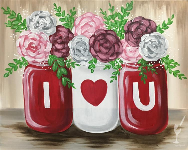 Love Blooms  **PAINT 1 - TAKE 1**
