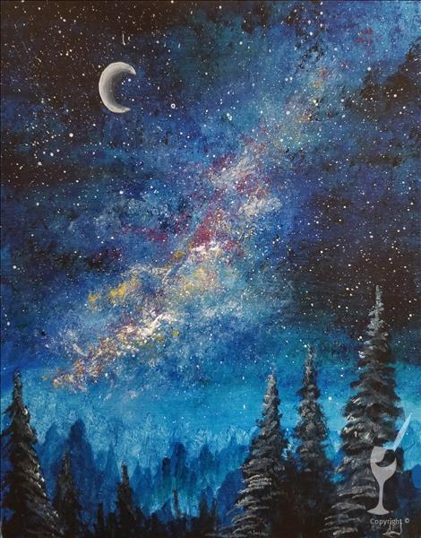 *IN STUDIO* Milky Way Forest