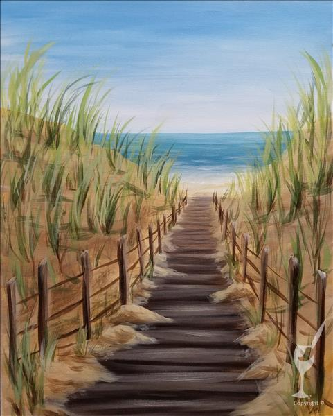 NEW! Beachy Boardwalk