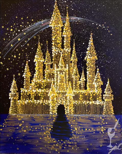 How to Paint NEW!  Dream Castle