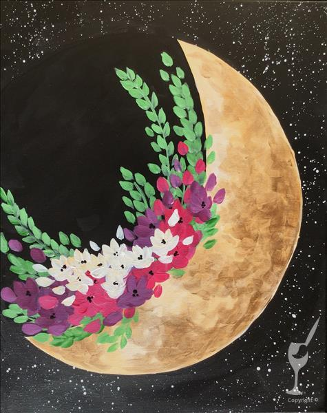 Flower Moon (Full Moon Event) - In Studio Class!
