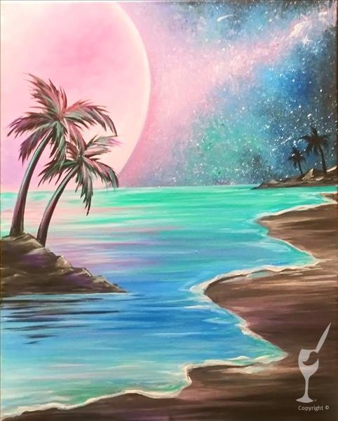 Moonlit Shores **NEW ART**