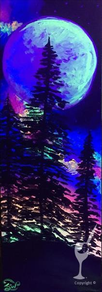 Celestial Pines - Blacklight In Studio Class!