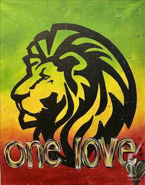 One Love Lion