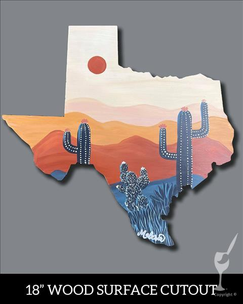 How to Paint TEXAS TUESDAY! *Open Studio* Pick Your TX Cutout