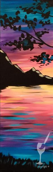 Peaceful Paradise  10x30