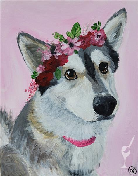VIRTUAL Flower Crown Paint Your Pet