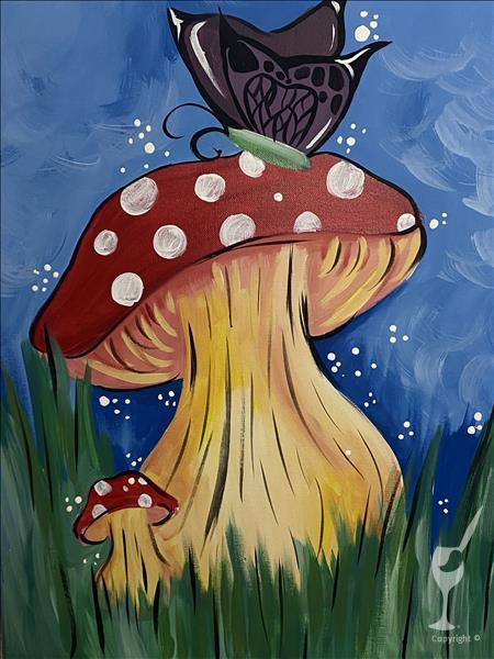 Chillin' on a 'shroom