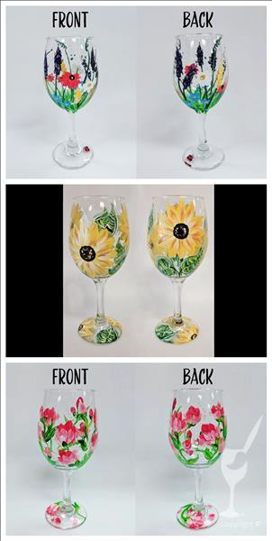 Wine it Up Wednesday - Wineglass Workshop