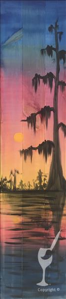 Cypress Sunset *New Art Alert