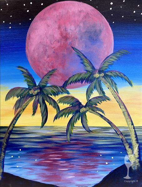 Magenta Moon *New Art Alers