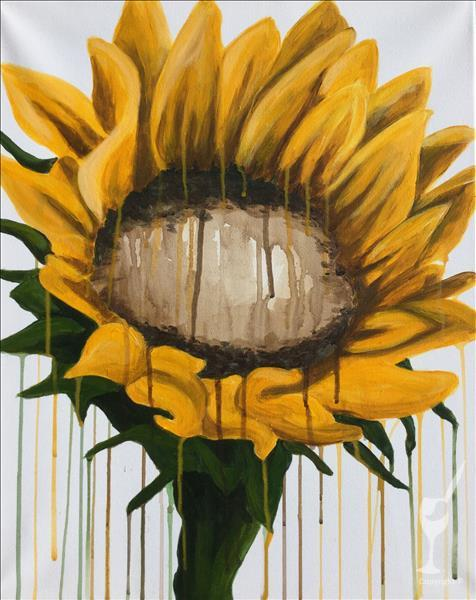 New: Drippy Sunflower