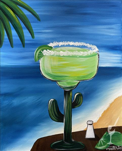 Celebrate Cinco De Mayo! Margarita at the Beach.