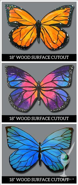 Manic Monday, $30 - Pick your Butterfly!