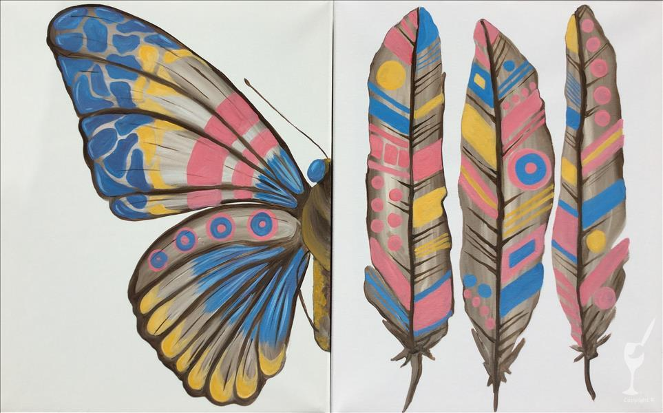 Butterfly or Feathers - You choose!