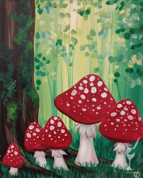 How to Paint Wonderland Forest