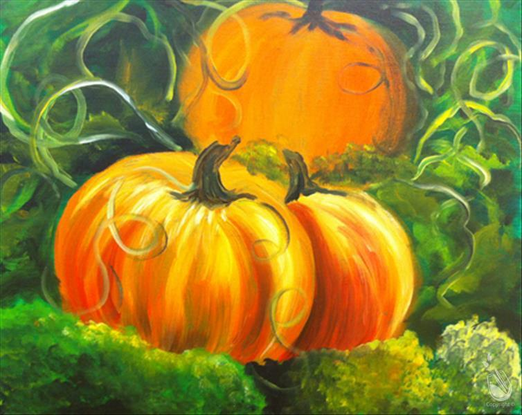 Pumpkin Patch - In Studio
