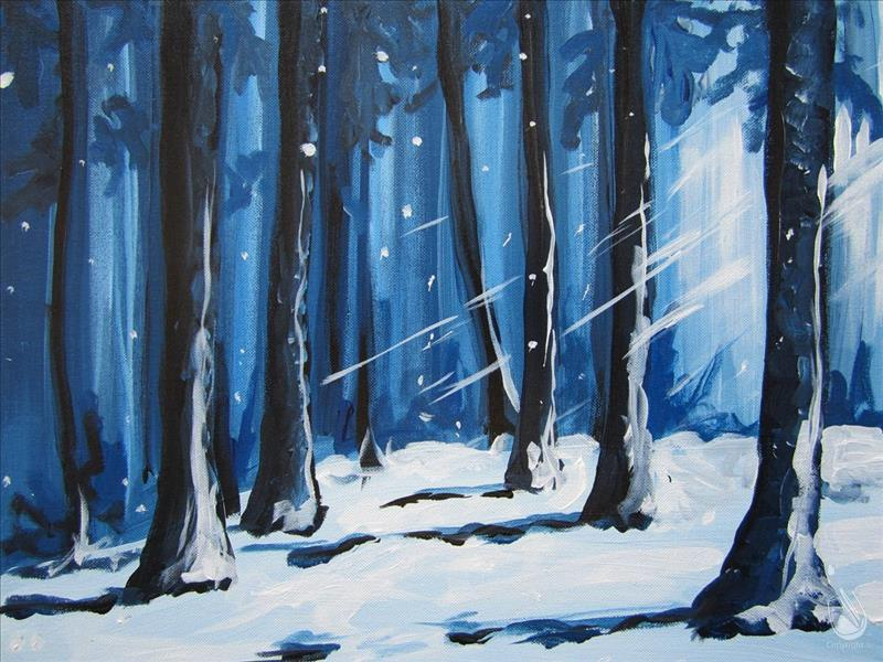 Deep Forest Painting Party
