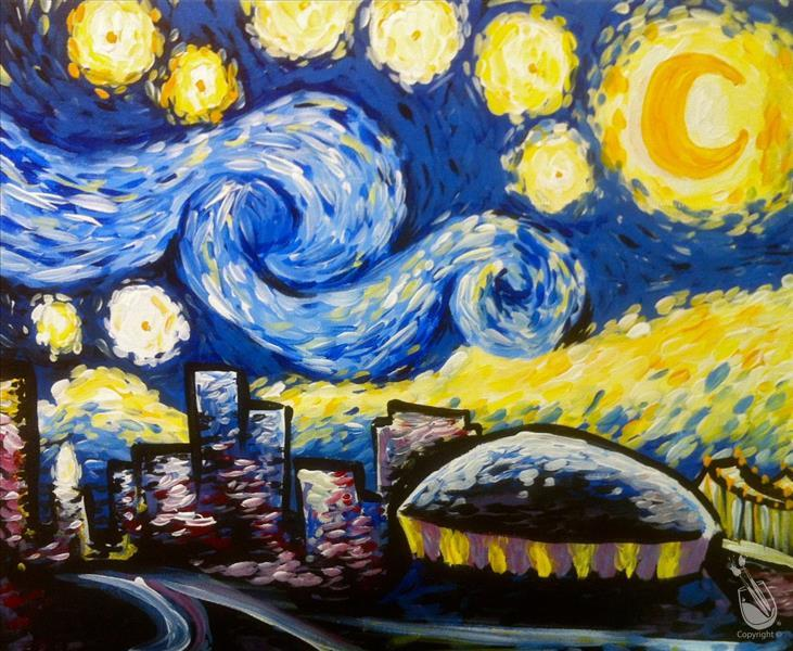 A Starry Starry Night in Nola
