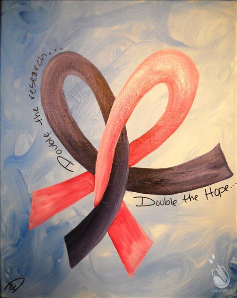 How to Paint Painting With a Purpose - Relay for Life