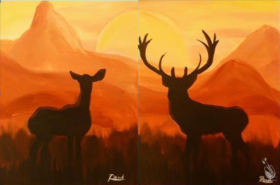 Deer at Sunset! {Date Night