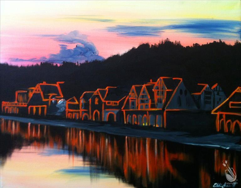 How to Paint *MANIC MONDAY! Boathouse Row - $10 off!