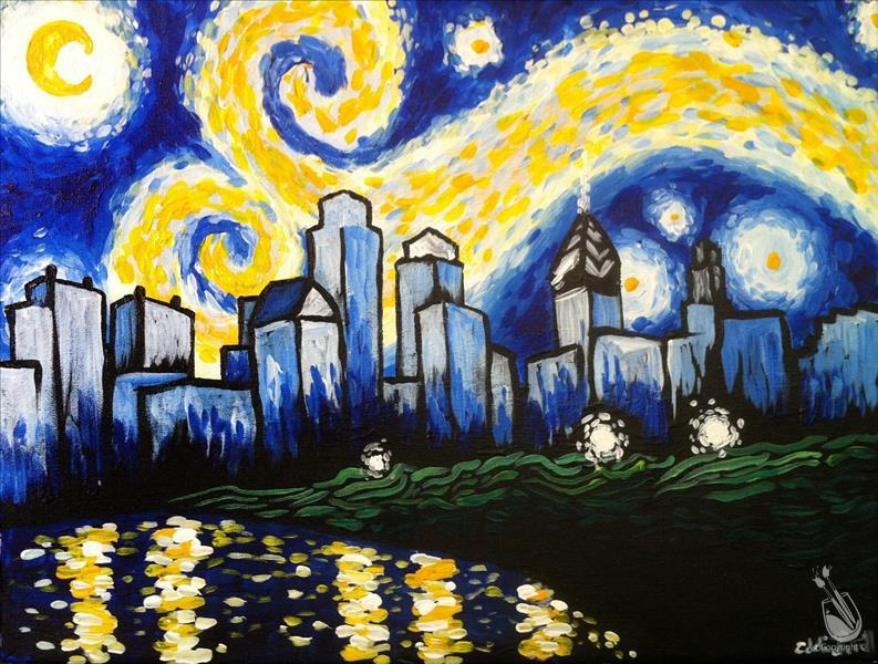 MANIC MONDAY! Starry Night in Philly
