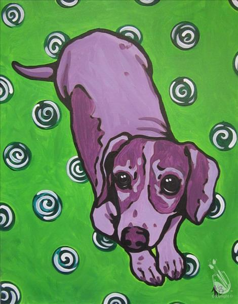 Paint Your Own Pop Art Dog! (Teens+Adults)