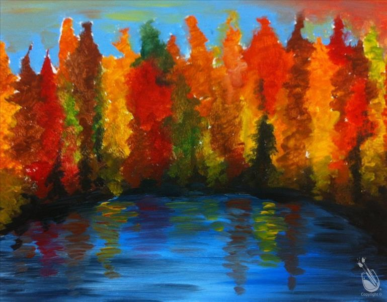 How to Paint Autumn Colors!