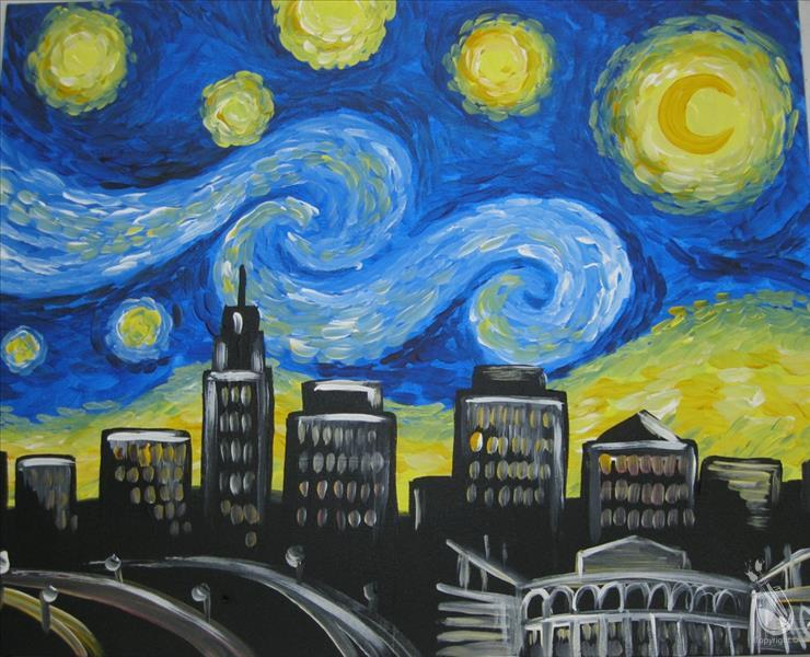 """Starry Night in Baton Rouge"""