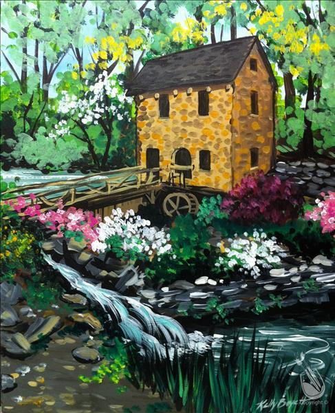 Art in the Afternoon ~ The Old Mill-$5 Off