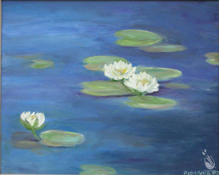 How to Paint Water Lilies