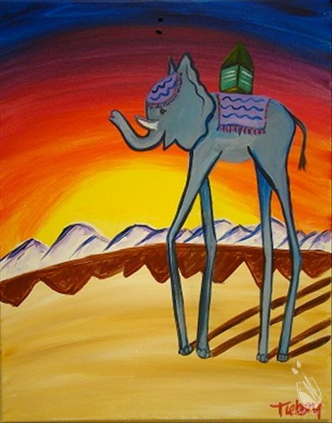 KIDS CAMP: DALI'S SURREAL ELEPHANT, Ages 8-14
