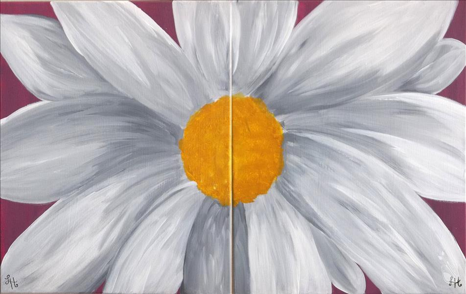 *IN STUDIO* Double Daisy - Set or Paint 1
