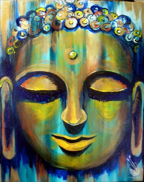 Tranquil Buddha (3hr) & 1/2 Priced Wine Bottles