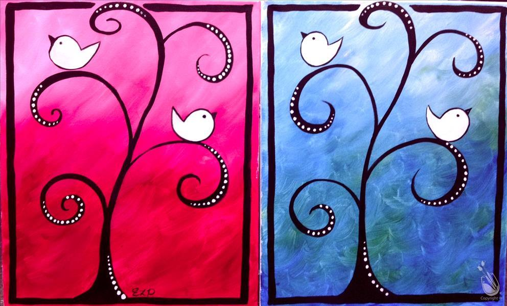 Love Birds - Personalize your Colors & Birds!