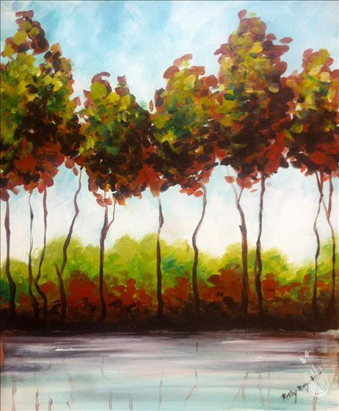 In Studio-*Mimosa Sunday* Tranquil Trees (21+)