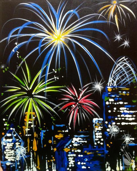 *IN STUDIO* Fireworks Over The City