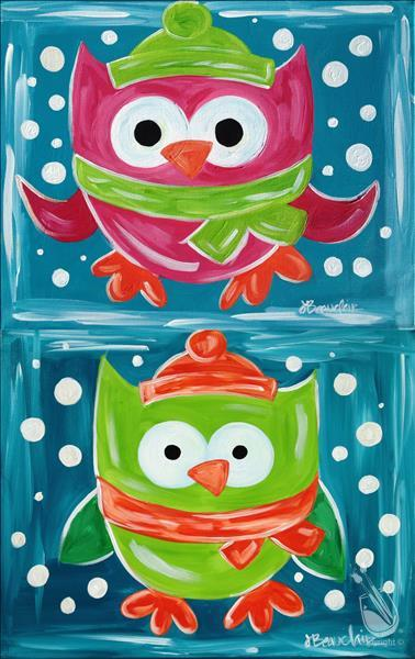 How to Paint ALL AGES Hoot!  Pick your Painting