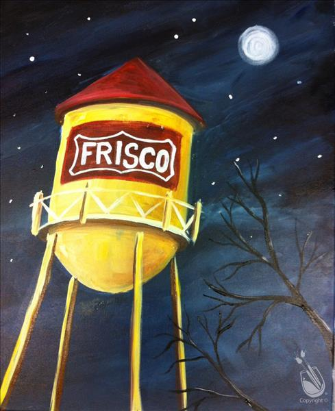 Frisco Water Tower- IN STUDIO