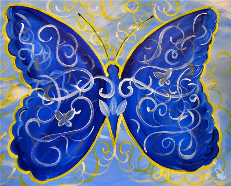 Blue's Butterfly *All Ages* Discounted Price!