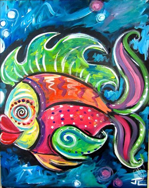KIDS CAMP! Colorful Fish **LIMITED SEATING**