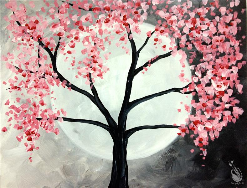 How to Paint Spring Full Moon (Pick Your Colors!)